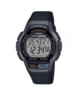 Sportowy zegarek męski Casio Collection WS-1000H-1AVEF (WS1000H1AVEF)