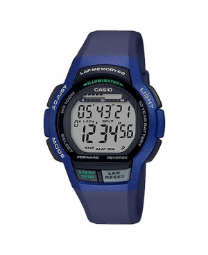 Sportowy zegarek męski Casio Collection WS-1000H-2AVEF (WS1000H2AVEF)