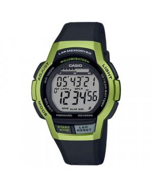 Sportowy zegarek męski Casio Collection WS-1000H-3AVEF (WS1000H3AVEF)