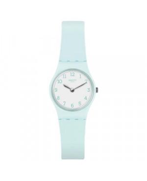 Szwajcarski, modowy zegarek damski SWATCH Originals Lady LG129 GREENBELLE