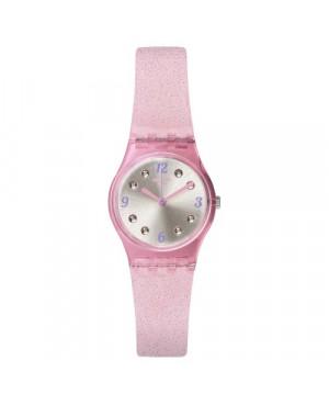 Szwajcarski, modowy zegarek damski SWATCH Originals Lady LP132C ROSE GLISTAR