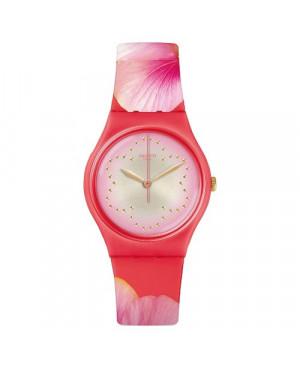 Modowy zegarek damski SWATCH Originals Gent GZ321 FIORE DI MAGGIO