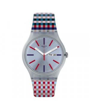 Szwajcarski, modowy zegarek damski SWATCH Originals New Gent SUOW709 MERENDA
