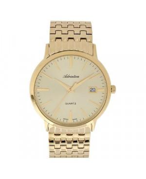 Szwajcarski, elegancki zegarek męski ADRIATICA A1243.1111QS (A12431111QS).