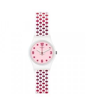 Szwajcarski, modowy zegarek damski SWATCH Originals Lady LW163 TRANSFORMATION PAVERED