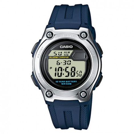 Sportowy zegarek dziecięcy Casio Collection W-211-2AVES (W2112AVES)
