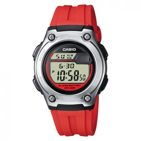 Sportowy zegarek dziecięcy Casio Collection W-211-4AVES (W2114AVES)
