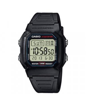 Sportowy zegarek męski Casio Collection W-800H-1AVES (W800H1AVES)
