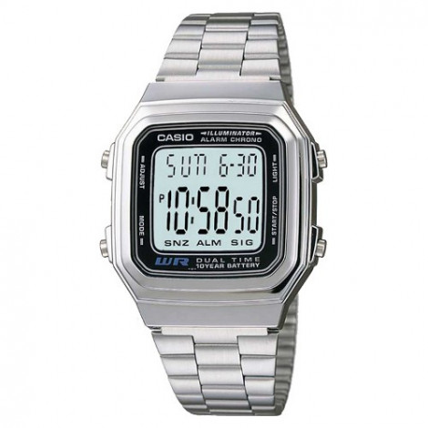 Sportowy zegarek męski Casio Collection A178WEA-1AES (A178WEA1AES)