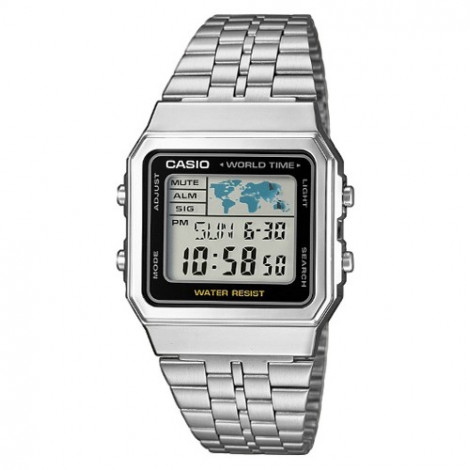 Sportowy zegarek męski Casio Collection A500WEA-1EF (A500WEA1EF)