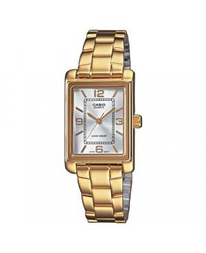 Klasyczny zegarek damski Casio Collection LTP-1234PG-7AEF (LTP1234PG7AEF)