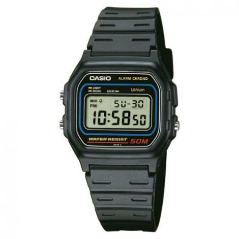 Sportowy zegarek męski Casio Collection W-59-1VQES (W591VQES)