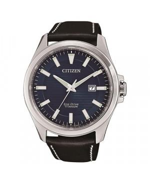 Klasyczny zegarek męski Citizen Eco-Drive TITANIUM BM7470-17L (BM747017L)