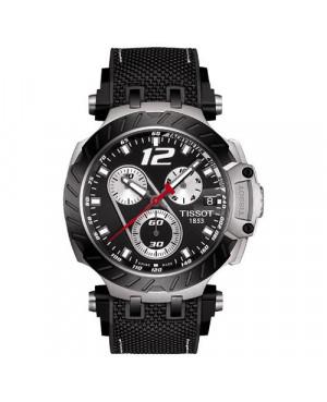 Szwajcarski, sportowy zegarek męski Tissot T-RACE JORGE LORENZO 2019 LIMITED EDITION T115.417.27.057.00 (T1154172705700)