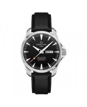 Szwajcarski, sportowy zegarek męski CERTINA DS Action Day-Date Powermatic 80 C032.430.16.051.00 (C0324301605100)