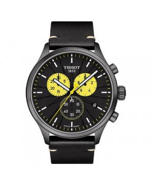 Szwajcarski, sportowy zegarek męski TISSOT CHRONO XL TOUR DE FRANCE 2019 SPECIAL EDITION T116.617.36.051.11 (T1166173605111)
