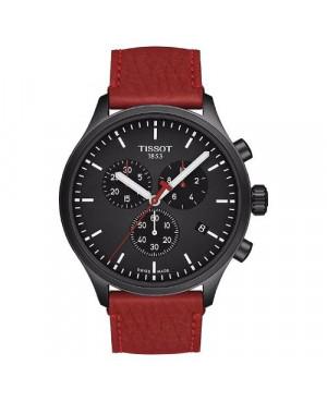 Szwajcarski, sportowy zegarek męski TISSOT CHRONO XL FIBA SPECIAL EDITION T116.617.36.051.10 (T1166173605110)