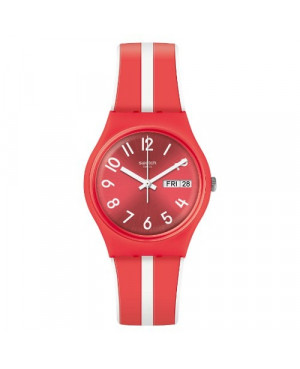Modowe zegarek męski SWATCH Originals Gent GR709 SANGUINELLO