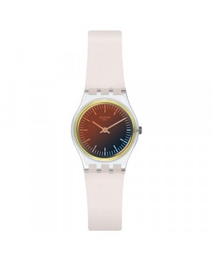 Szwajcarski, modowy zegarek damski SWATCH Originals Lady LK391 ULTRA GOLDEN