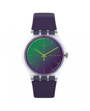 Szwajcarski, modowy zegarek damski SWATCH Originals New Gent SUOK712