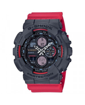 Sportowy zegarek męski Casio G-Shock GA-140-4AER (GA1404AER)