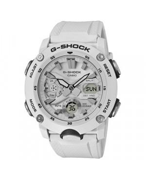 CASIO GA-2000S-7AER Sportowy zegarek męski Casio G-Shock G-Carbon  (GA2000S7AER)