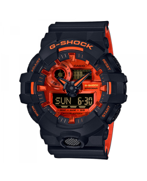 Sportowy zegarek męski Casio G-Shock GA-700BR-1AER (GA700BR1AER)