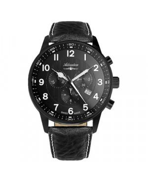 Szwajcarski, lotniczy zegarek męski ADRIATICA Aviator A1076.B224CHXL (A1076B224CHXL)