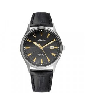 Szwajcarski, elegancki zegarek męski ADRIATICA A1171.42G4Q (A117142G4Q)