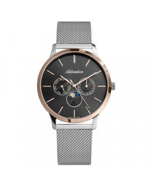 Szwajcarski, elegancki zegarek męski ADRIATICA A1274.R114QF (A1274R114QF).