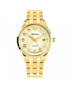 Elegancki zegarek męski ADRIATICA A1278.1121Q (A12781121Q)