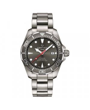 Szwajcarski, sportowy zegarek męski CERTINA DS Action Diver Powermatic 80 C032.407.44.081.00 (C0324074408100)