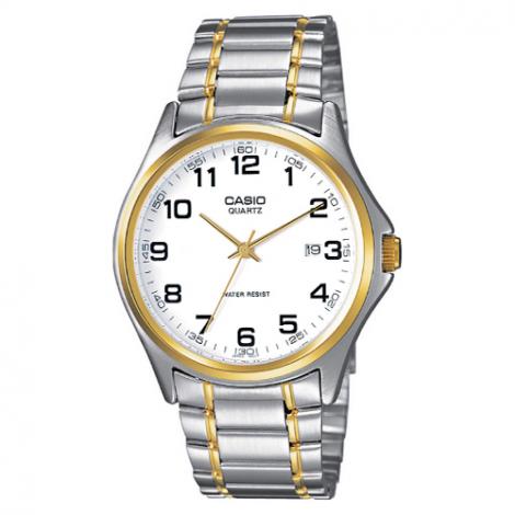 Klasyczny zegarek męski Casio Collection MTP-1188PG-7BEF (MTP1188PG7BEF)