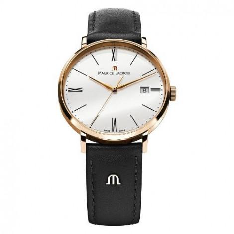 Szwajcarski klasyczny zegarek męski MAURICE LACROIX Eliros Date EL1087-PVP01-110 (EL1087PVP01110)