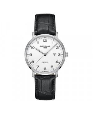 Szwajcarski, klasyczny zegarek męski CERTINA DS Caimano Gent C035.410.16.012.00 (C0354101601200)