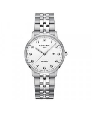 Szwajcarski, klasyczny zegarek męski CERTINA DS Caimano Gent C035.410.11.012.00 (C0354101101200)