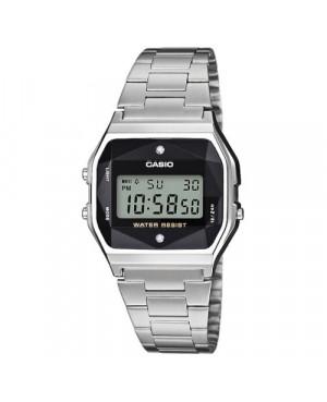 Klasyczny zegarek damski CASIO Vintage A158WEAD-1EF (A158WEAD1EF)