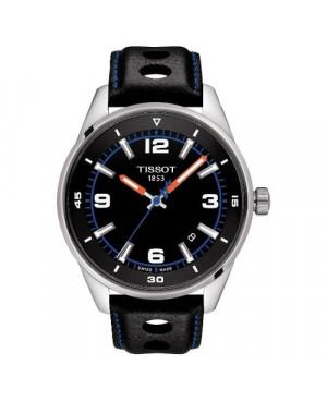 Szwajcarski, sportowy zegarek męski TISSOT ALPINE ON BOARD T123.610.16.057.00 (T1236101605700) na pasku z cyframi