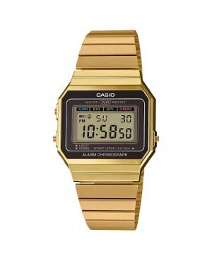 Klasyczny zegarek damski CASIO Vintage A700WEG-9AEF (A700WEG9AEF)