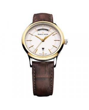 Szwajcarski klasyczny zegarek męski MAURICE LACROIX Les Classiques Date LC1007-PVY11-130 ( LC1007PVY11130).