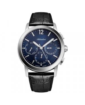 Szwajcarski, elegancki zegarek męski ADRIATICA A8273.5255QF (A82735255QF)