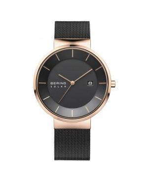 Elegancki, zegarek damski BERING CLASSIC SOLAR 14639-166 (14639166)