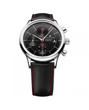Szwajcarski sportowy zegarek męski MAURICE LACROIX Les Classiques Chronographe LC6058-SS001-332 (LC6058SS001332)