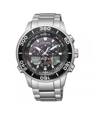 Sportowy zegarek męski Citizen Eco-Drive Promaster Yacht JR4060-88E (JR406088E)