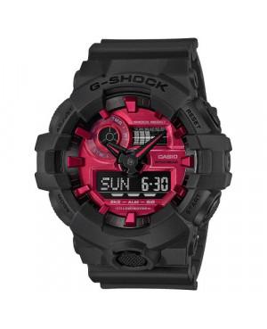 CASIO GA-700AR-1AER Sportowy zegarek męski Casio G-Shock
