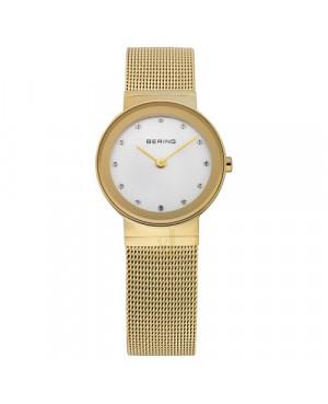 Biżuteryjny, zegarek damski Bering CLASSIC Collection 10126-334 (10126334)