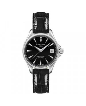 Szwajcarski, elegancki zegarek damski Certina DS Action Lady Diamonds C032.051.16.056.00 (C0320511605600)