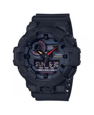 Sportowy zegarek męski Casio G-Shock GA-700BMC-1AER (GA700BMC1AER)