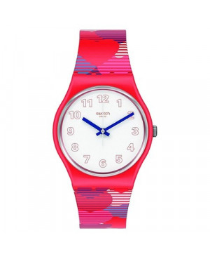 Modowy zegarek damski SWATCH Originals Gent GR182 HEART LOTS