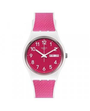 Modowy zegarek damski SWATCH Originals Gent GW713 BERRY LIGHT